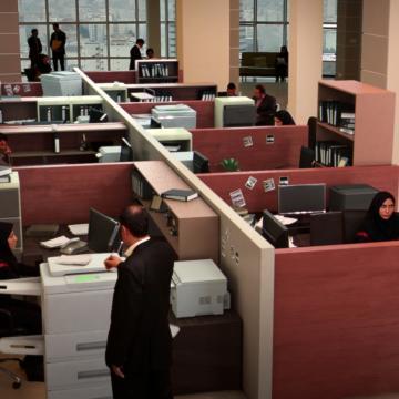 بانک سینا مجهز به سري دزدگير پارادوكس